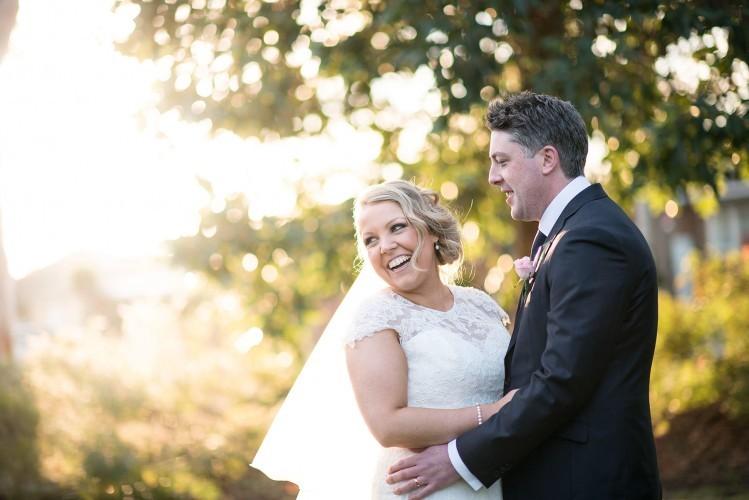 Wedding at Southern Golf Club beautiful light