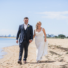 Michelle & Serge - Wedding at Leonda by the Yarra