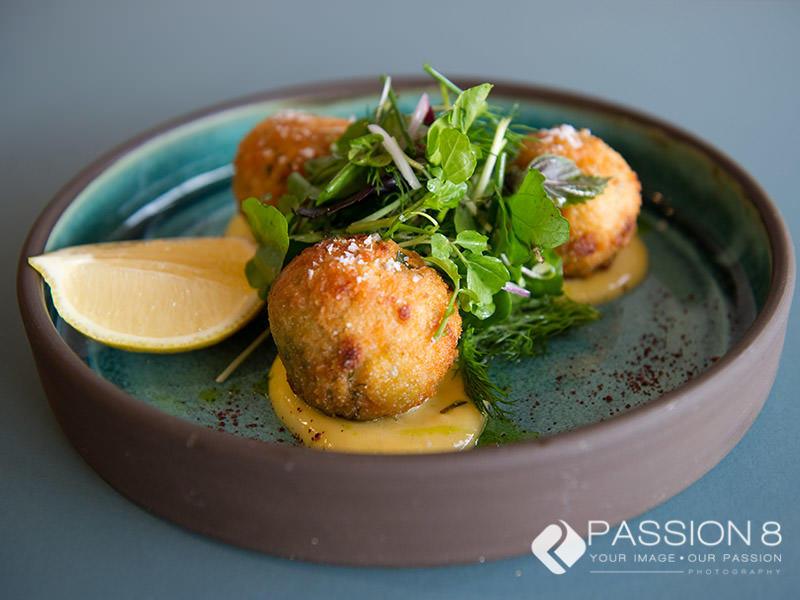 Food photography riceballs