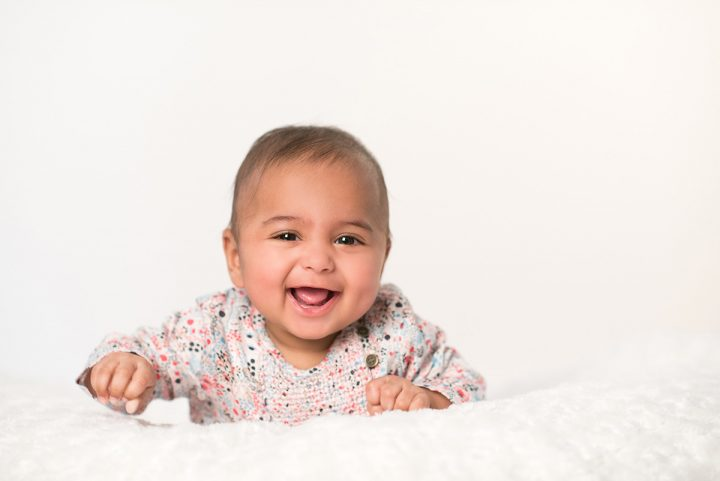 baby photos in studio