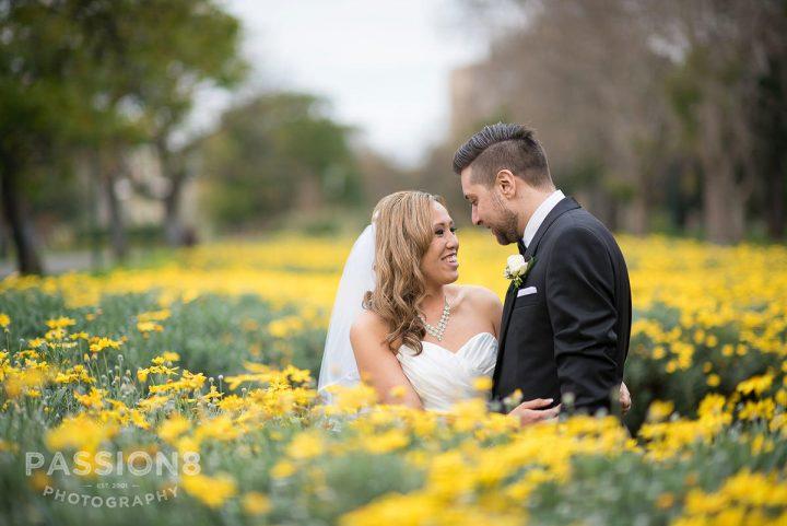 Wedding at San Remo Ballroom flowers