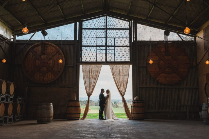 Wedding at Zonzo barn
