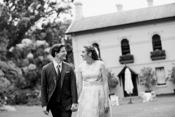 Wedding bride at Gardens House