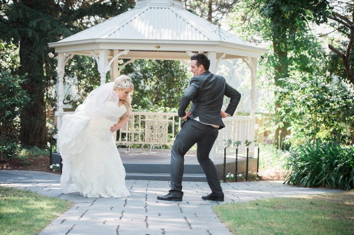 Wedding dance at Linley Estate
