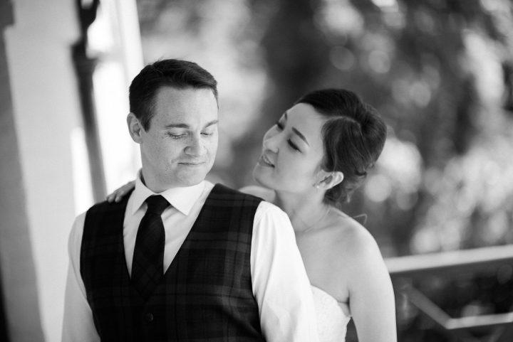 Wedding at Gardens House love