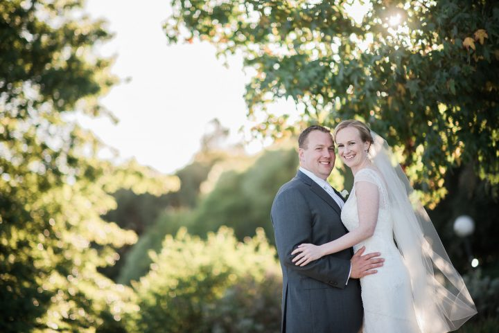 Sunset Wedding at Red Hill Estate