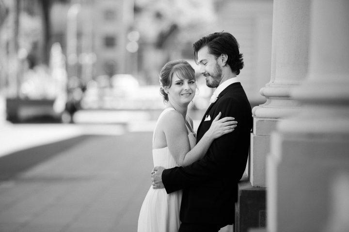 Wedding at The Markov cute couple