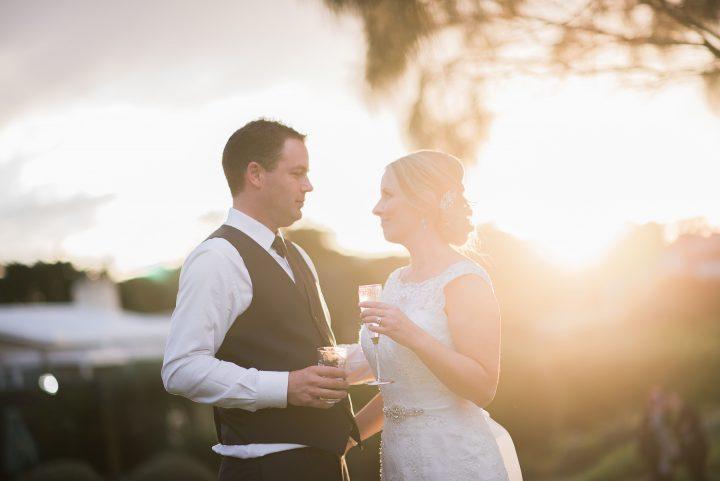 Sunset Wedding at Portsea Hotel