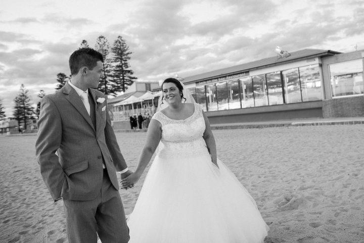 Wedding at Sails on the Bay romance