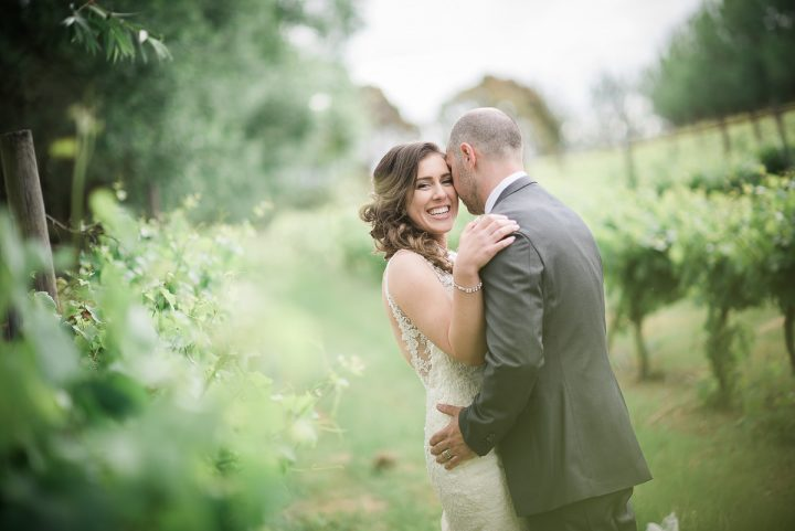 wedding at glen erin kiss