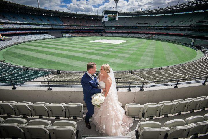 Wedding at the MCG