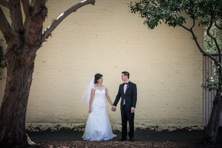 Wedding at glen waverley uniting church