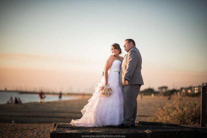 Wedding at Vue de Monde
