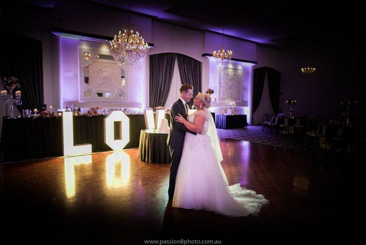 Wedding dance at Vogue Ballroom
