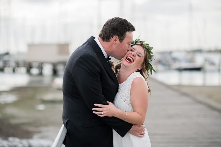 Wedding at Sandringham Yacht Club