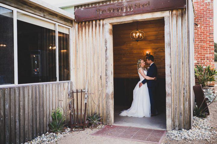 Wedding at the Shearing Shed