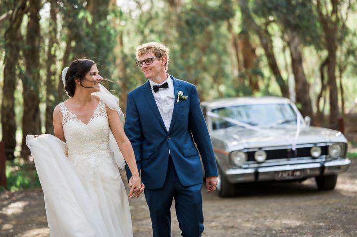 Home Wedding in Seymour